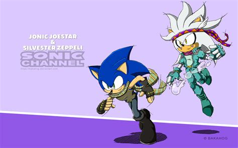 Sonic Channel - Jonic and Silvester by Bakahorus on DeviantArt