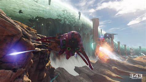 Halo 5: Guardians screens show plenty of Warzone action