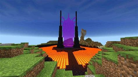 That ScArY Nether Portal ╰_╯   Minecraft Amino