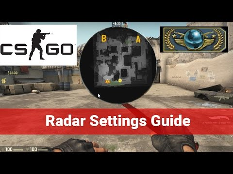 CS:GO Radar Settings Guide - How To See The Whole Map