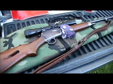 Winchester Model 63 At The Range - YouTube