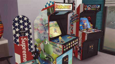 Mod The Sims - Two arcade cabinets (decorative) For one