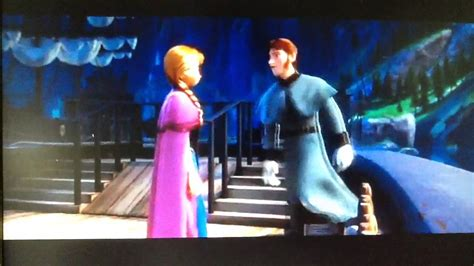 Frozen (2013) Olaf's Personal Flurries / Anna Punches Hans