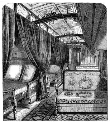 Invention of the Luxury Sleeping Car by George Pullman