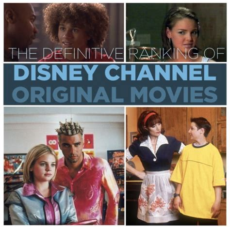 Top 50 (5) Disney Channel movies Ranked: ohnotheydidnt