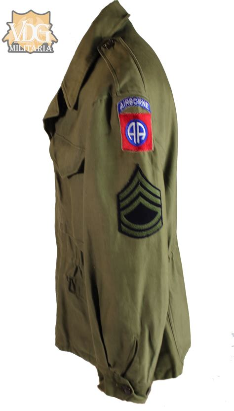 WW2 US Army 82nd Airborne M43 Field Jacket-Named | VDG