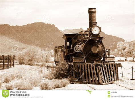 Old USA Train Stock Images - Image: 5379944