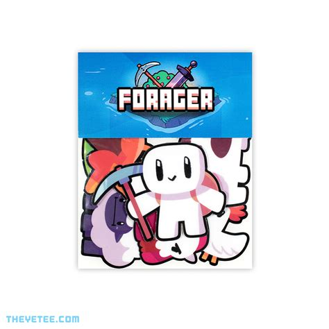 Forager Sticker Pack   The Yetee