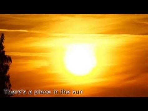 A Place In the Sun - Stevie Wonder (with lyrics) - YouTube