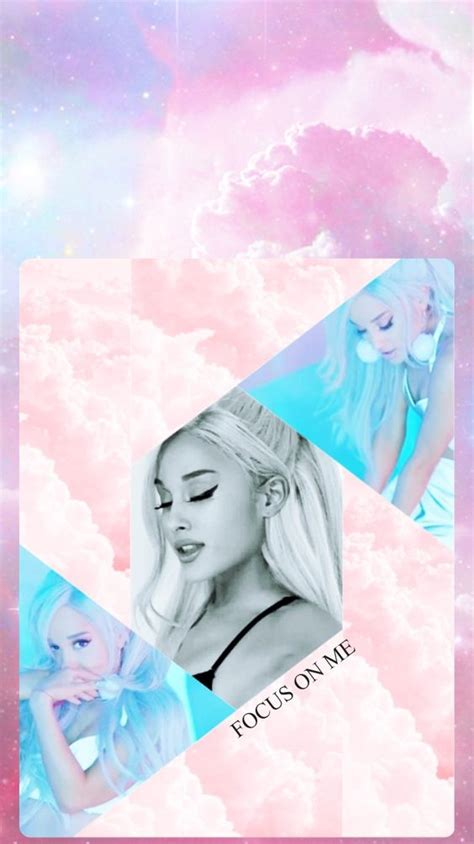 Wallpaper FOCUS ON ME Ariana Grande (Made by: @Ayssaays on