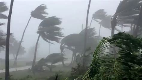 Super Typhoon Mangkhut Heads Toward Philippines and China