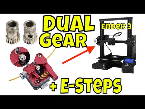 3DCR Double - Dual extruder for Prusa i3 free 3D model 3D