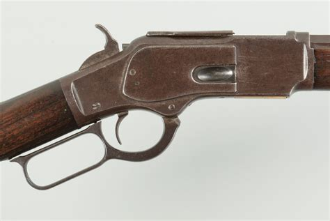 Lot 805: Winchester Model 1873, 32-20 Win Level Action Rifle