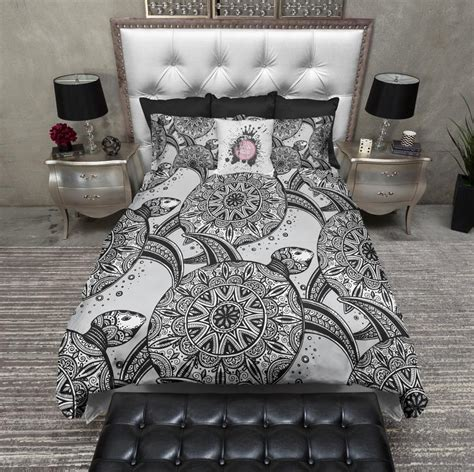 Tribal Sea Turtle Bedding – Ink and Rags