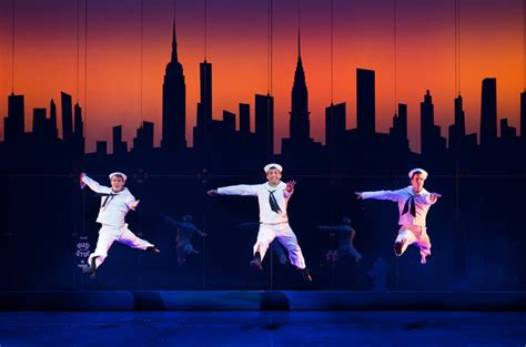'On the Town' Revival Opens on Broadway - The New York Times