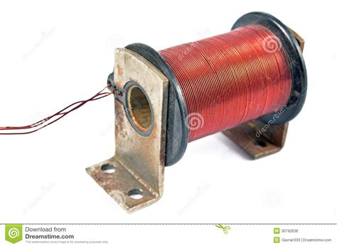 Electric Coil Motor Royalty Free Stock Image - Image: 30792636