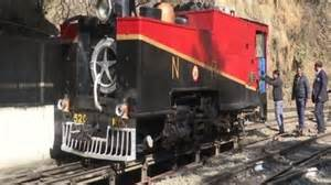 117-year-old steam engine attracting foreign tourists on