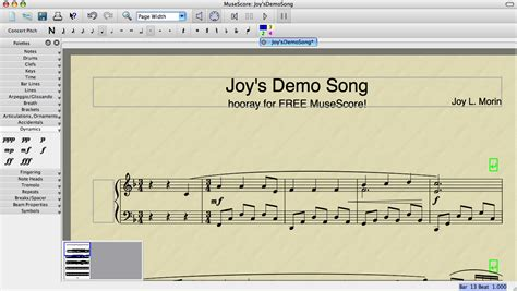 A Closer Look at MuseScore: FREE music notation software