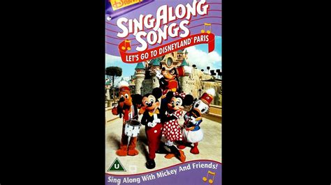 Digitized closing to Disney's SingAlong Songs Let's Go To