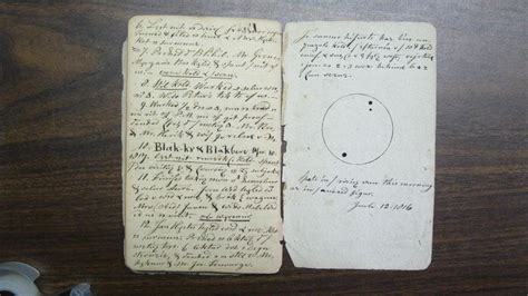 200-Year-Old Journal Reveals Rare American Sunspot Records
