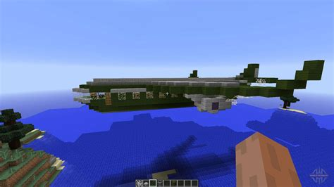 Military aircraft for Minecraft