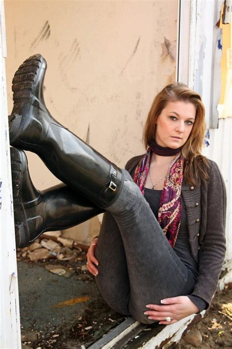 300 best images about Rubber And riding boots on Pinterest